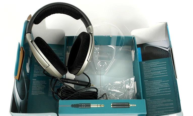 HD 555 в коробке