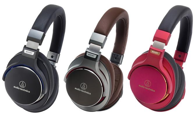 Audio-Technica ATH-MSR7 в трех цветах