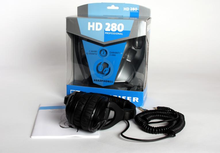 Sennheiser HD 280 Pro в коробке
