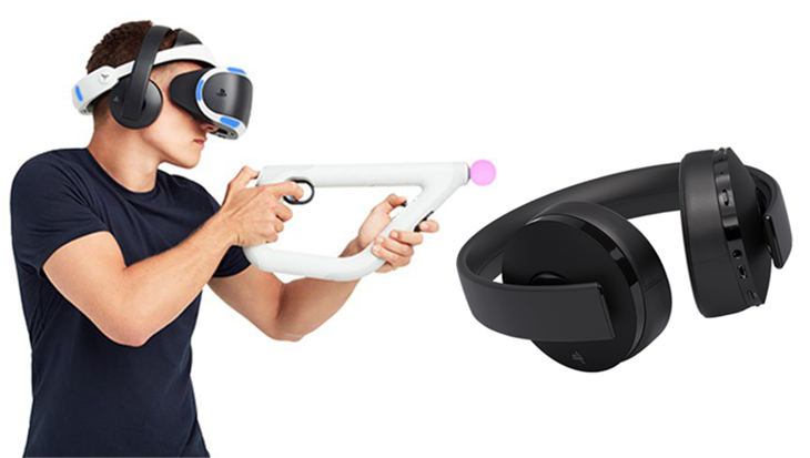 Sony Gold Wireless с VR