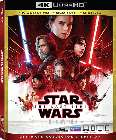 Последние джедаи 4K Blu-ray от Disney с Dolby Atmos